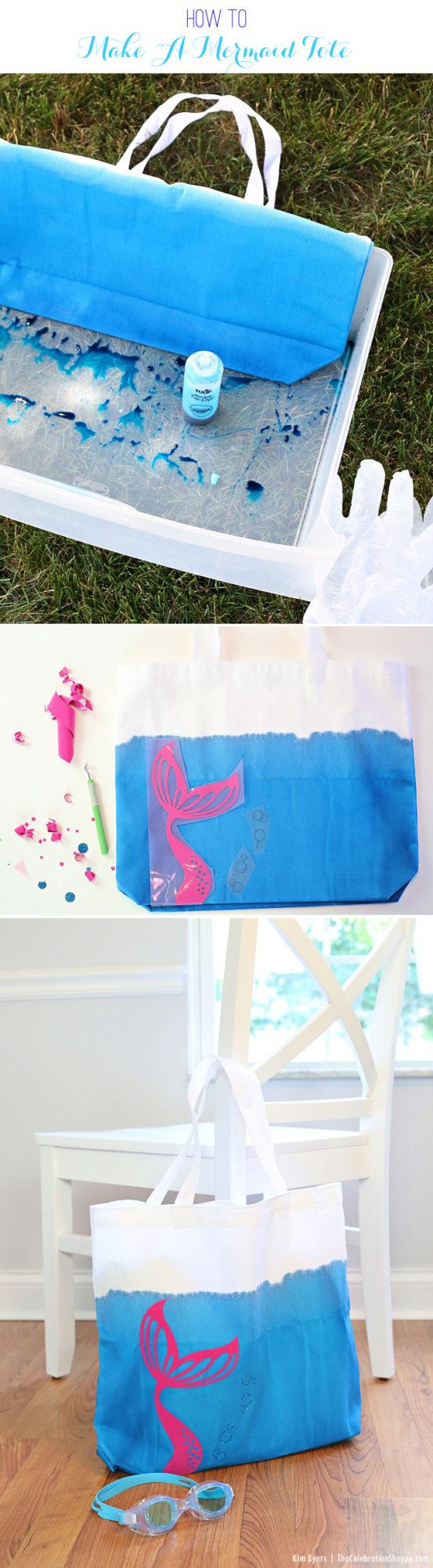 How To Make A Mermaid Tote | Kim Byers