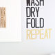 Wash dry fold repeat decal kim byers 9011wl