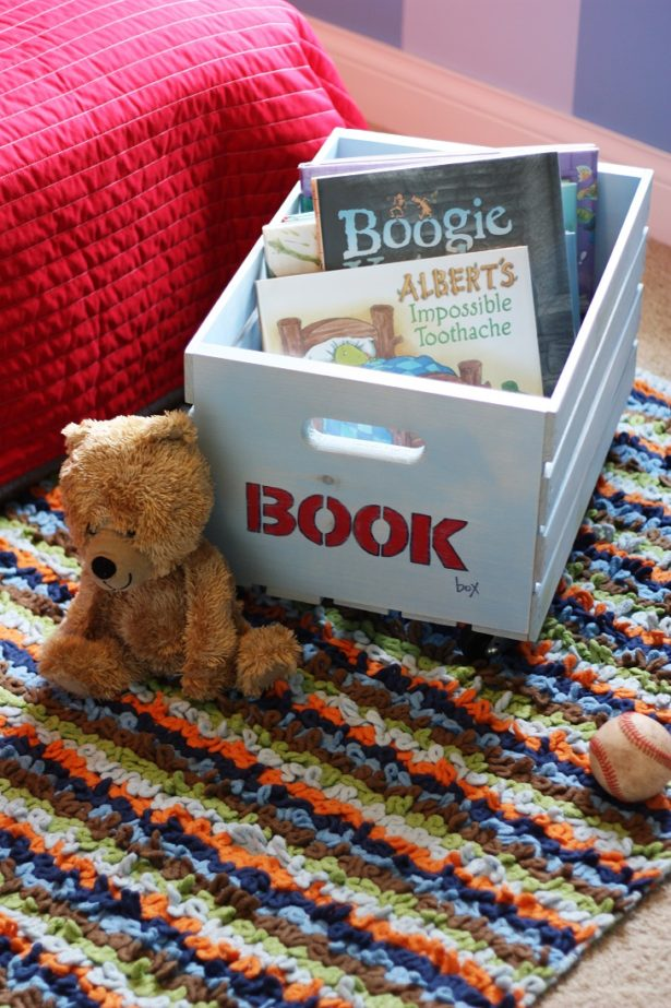 Make A Toy Storage Box