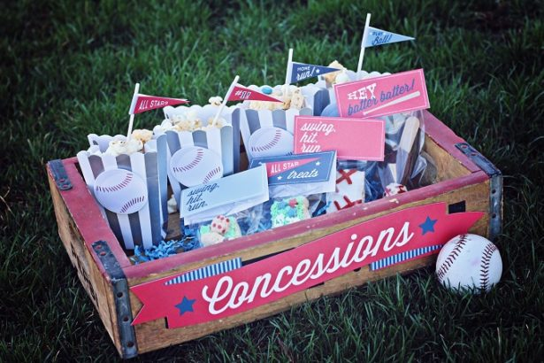 All Star Baseball Concession Stand Free Printables | Kim Byers