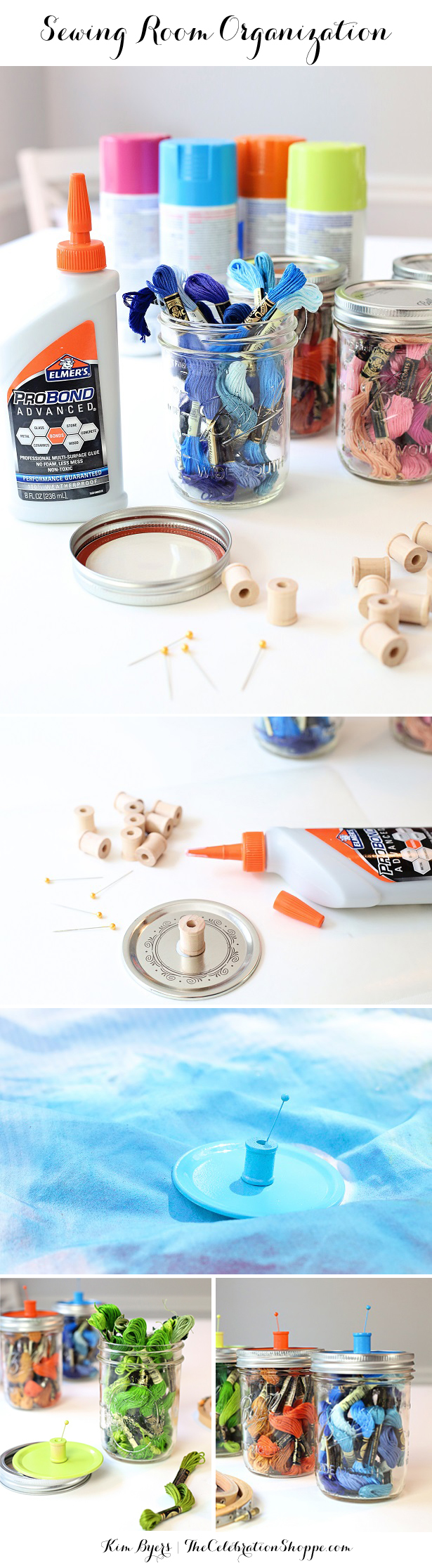 Sewing Organization Ideas | Kim Byers