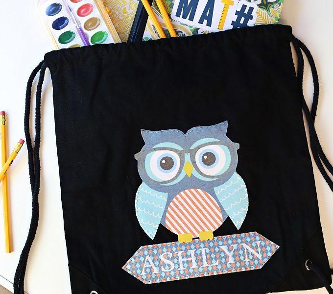 1 embellished child backpack 9671