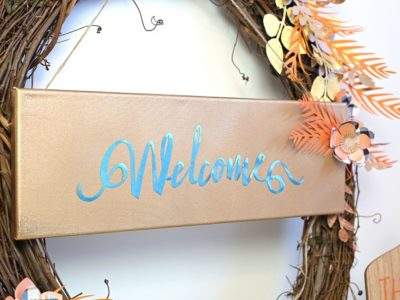 1 welcome fall foil sign kim byers 9984 680