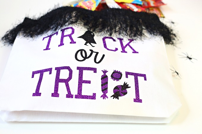 DIY Halloween Candy Bag
