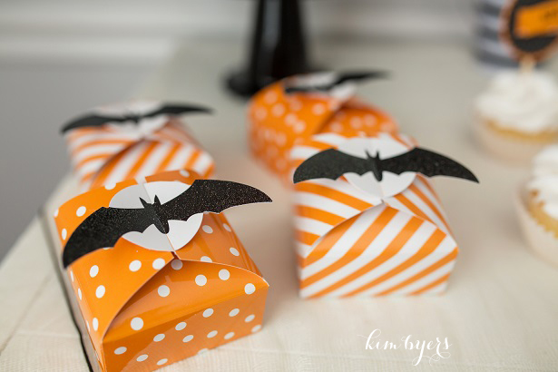 Bat Halloween Favor Box