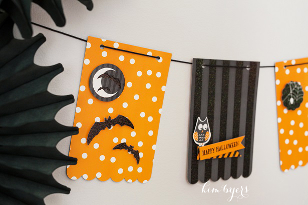 Make A Halloween Banner | Kim Byers