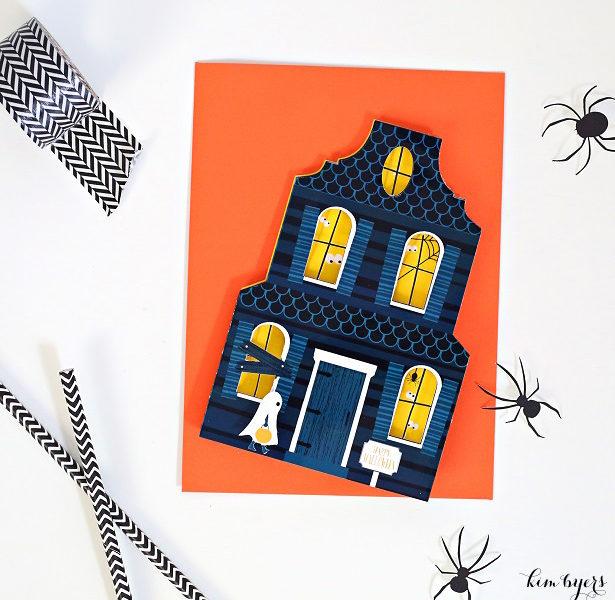 Spooky halloween invitation kim byers wl
