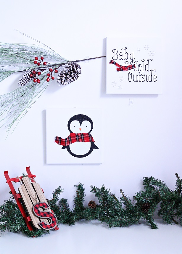 1 baby its cold outside canvas kim byers 8946