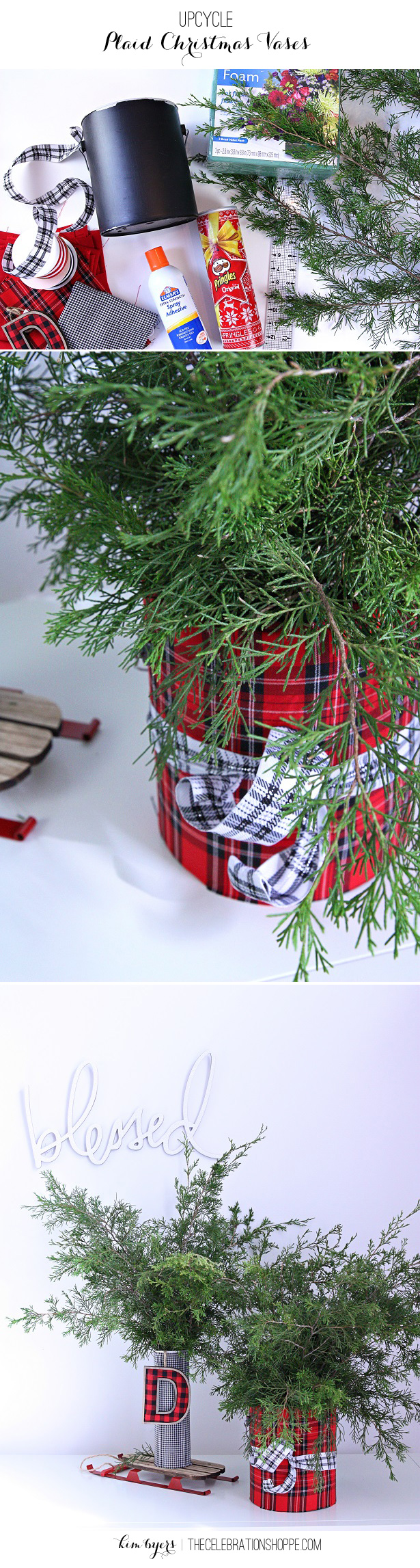 Upcycling Ideas for Christmas   Kim Byers