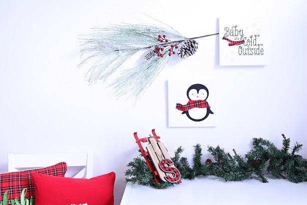 Plaid Christmas Crafts   Kim Byers