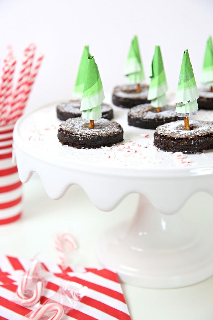 Christmas Tree Brownies Video | Kim Byers