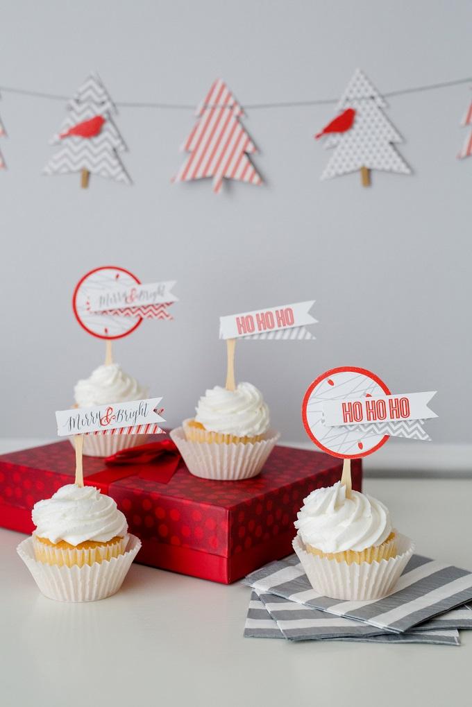 Christmas Cupcakes   Kim Byers