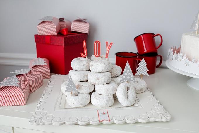 Joyful Christmas Donuts   Kim Byers