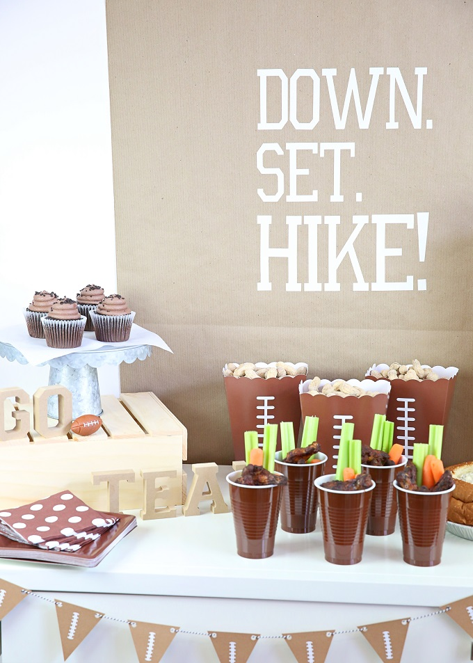 Big Game Party Table | Kim Byers
