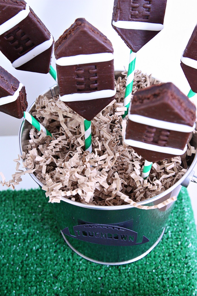 Super Bowl Brownies | Kim Byers