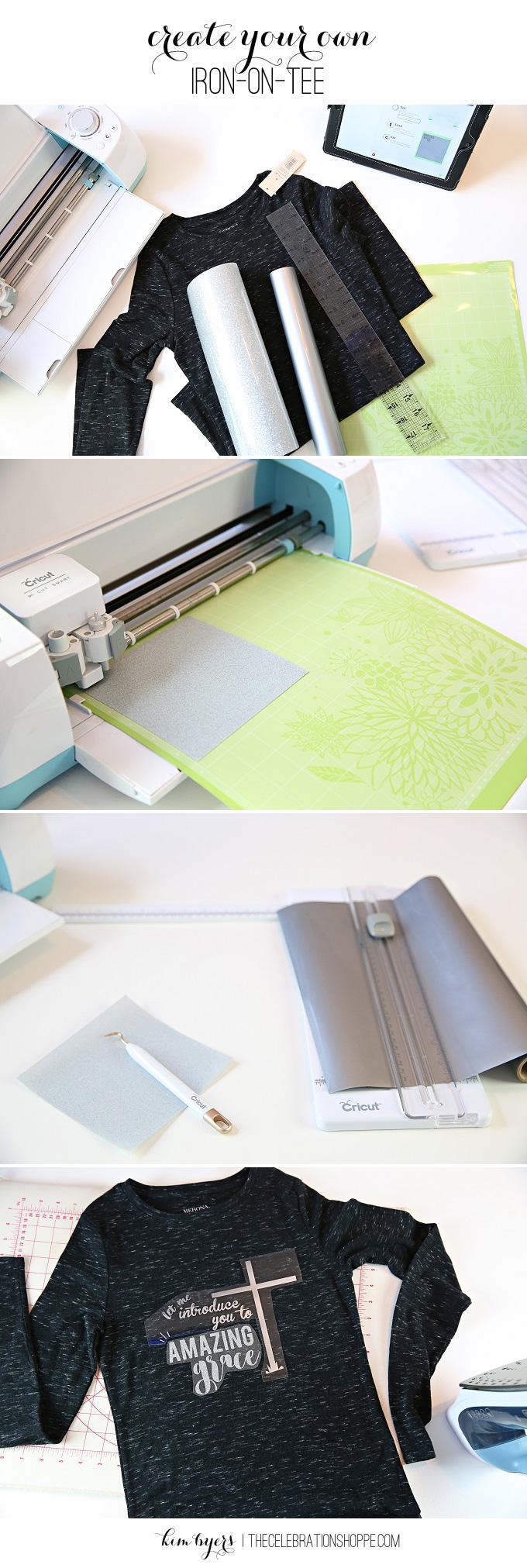Make An Amazing Grace Graphic TShirt | Kim Byers