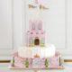 Princess castle cake paper craft kim byers
