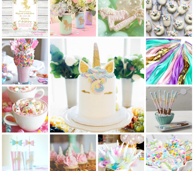 Unicornpartycollage