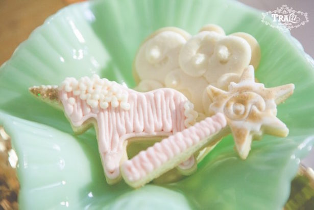 Unicorn party cookies karas party ideas