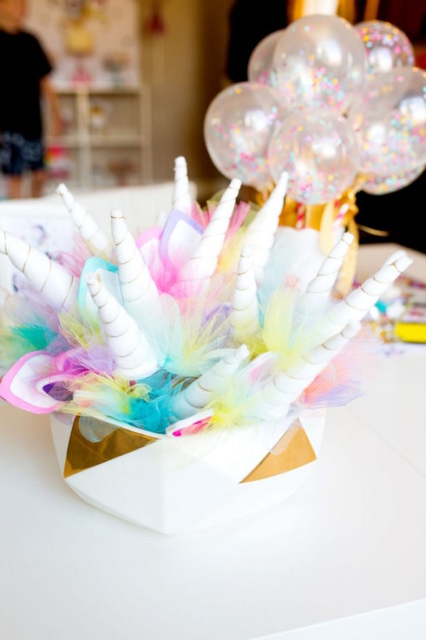 Unicorn party headband modern moments