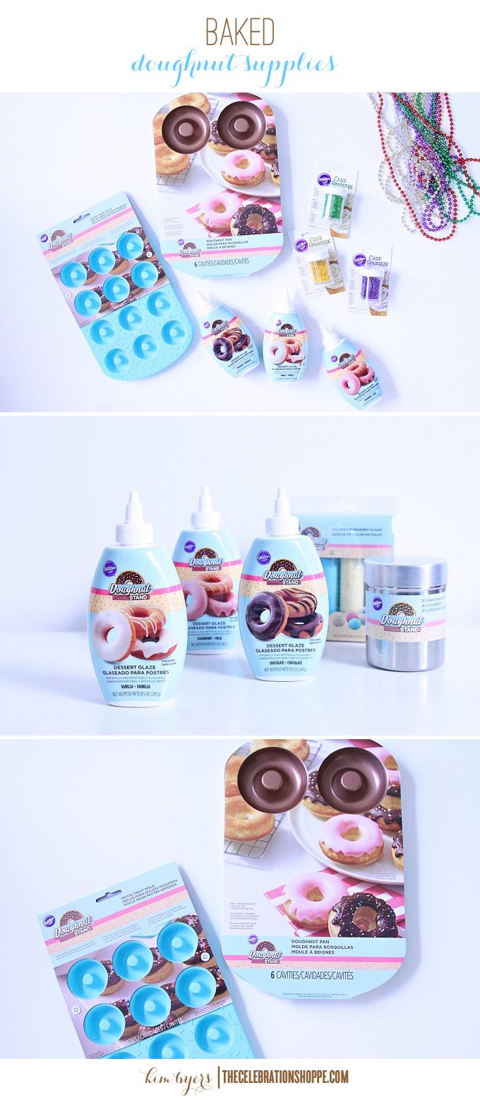 Baked Doughnut Supplies | Kim Byers