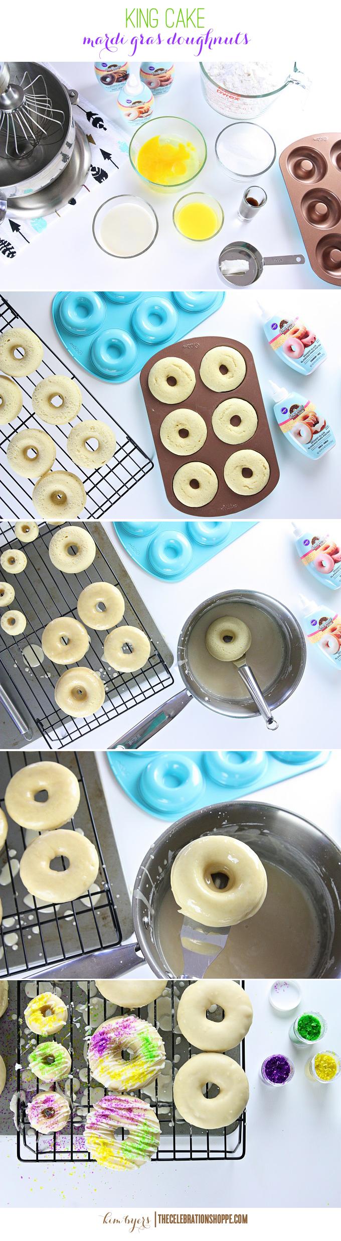 Mardi Gras Doughnuts | Kim Byers