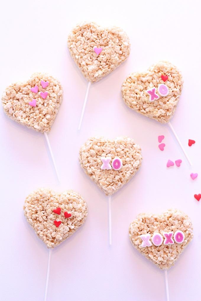 Heart Shaped Valentines Day Treats   Kim Byers