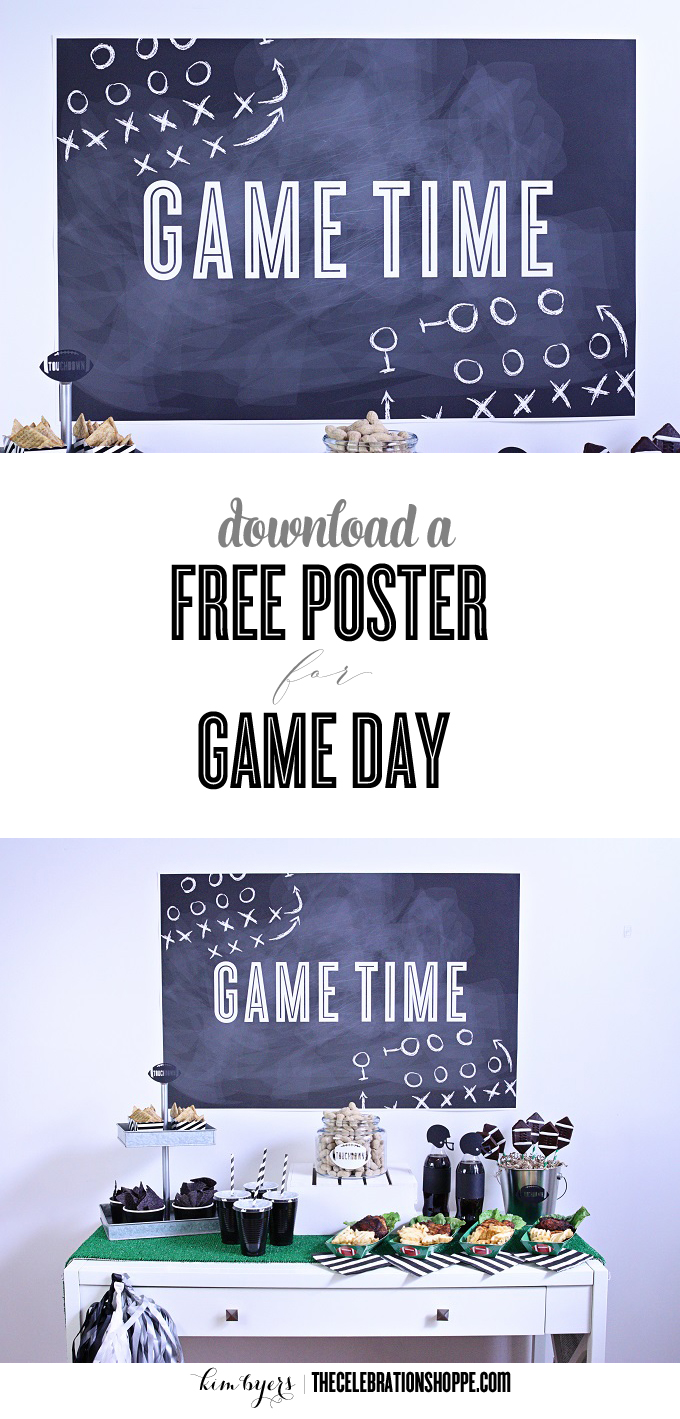 Download free game day poster kim byers