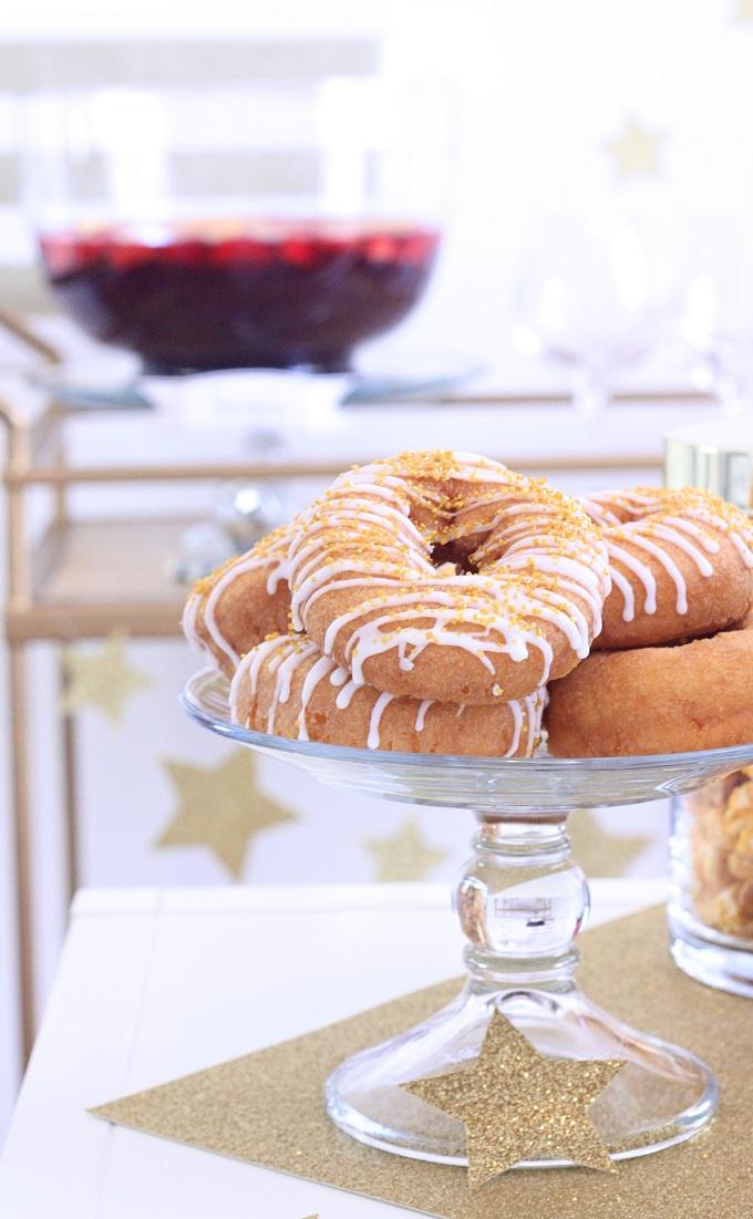 Golden Cake Doughnuts   Kim Byers