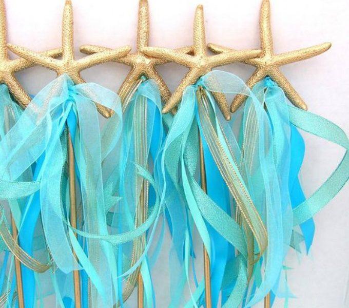 Mermaid party mermaid wand