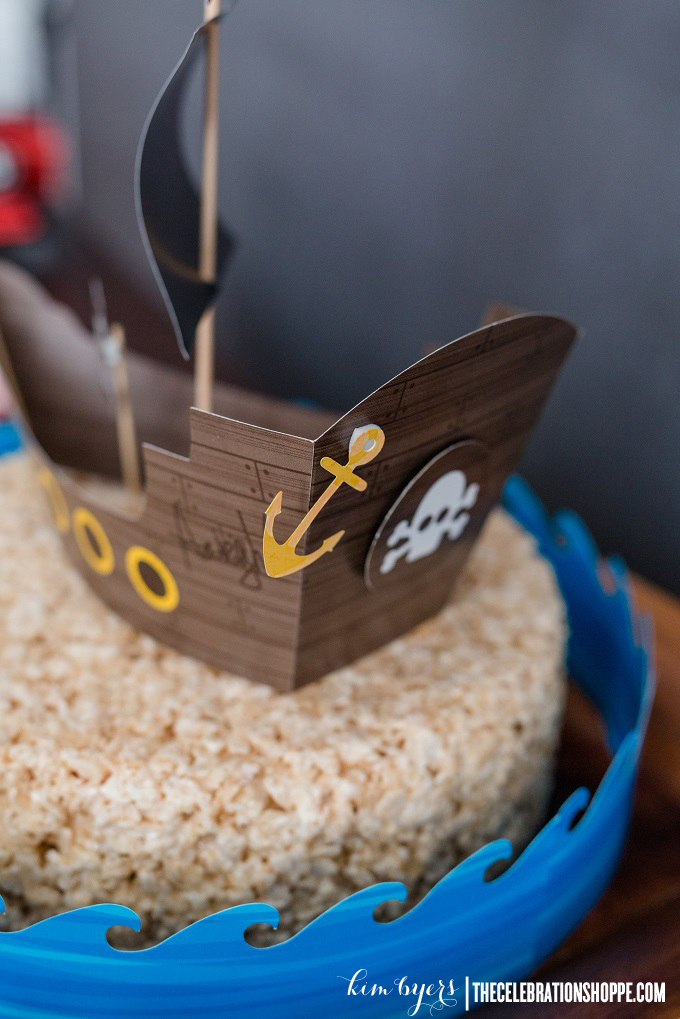 Pirate Cake Topper | Kim Byers