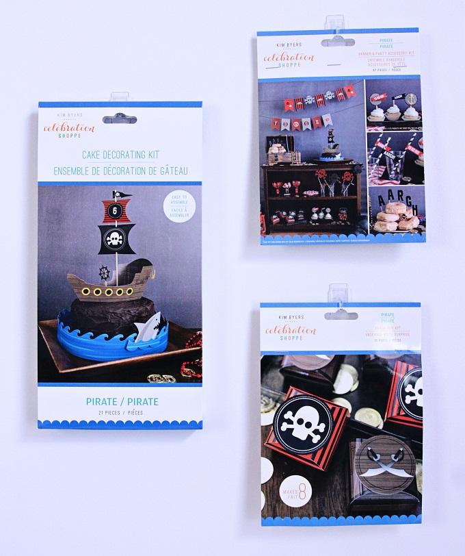 Pirate Party Kits | Kim Byers