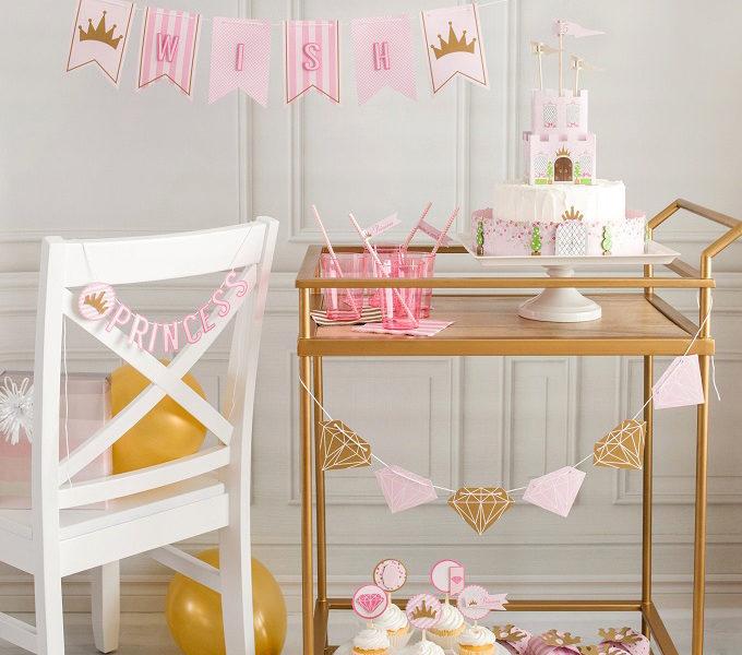 Princess party paper craft kim byers wl