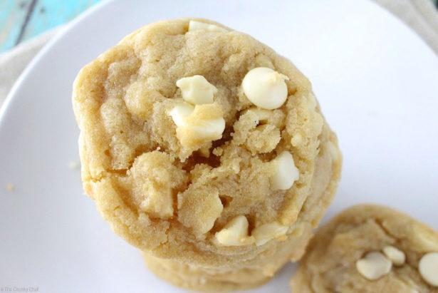 Soft & Chewy White Chocolate Chip Macadamia Cookies