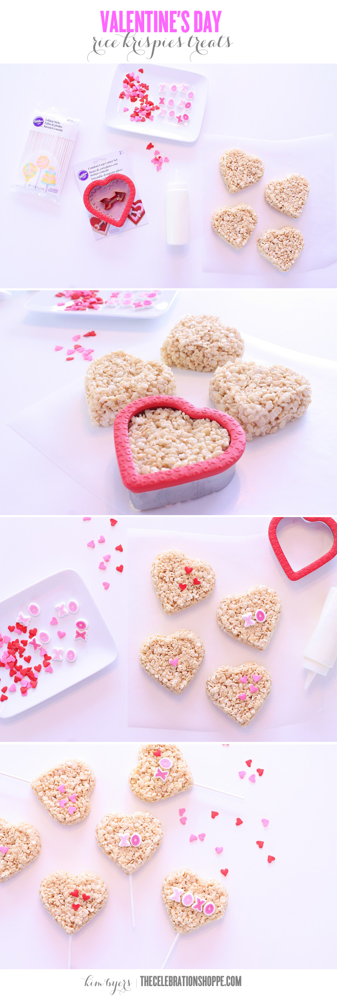 Rice Crispies Treats For Valentines   Kim Byers