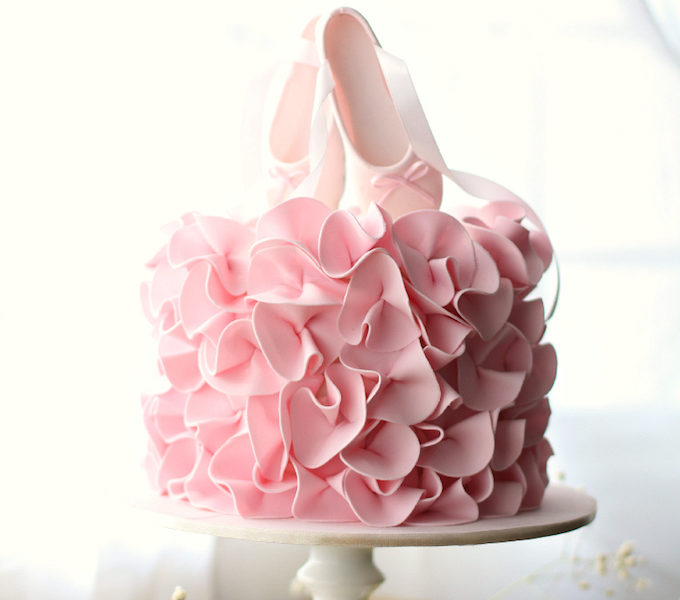 25 best girls birthday cakes ballerina gateauxlicious