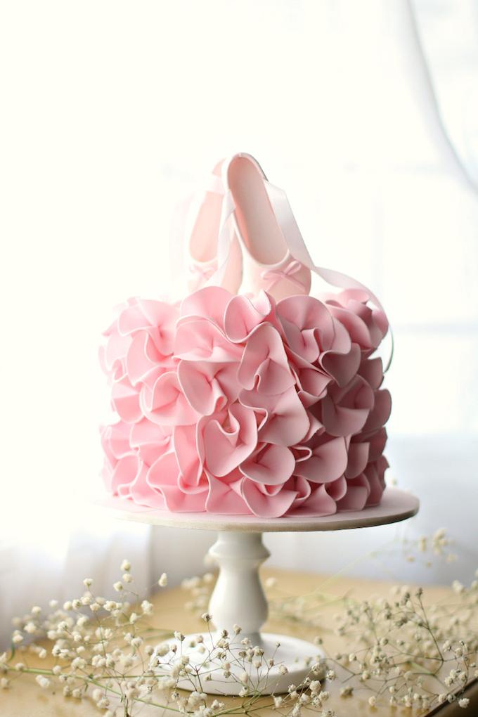 25 best girls birthday cakes ballerina gateauxlicious
