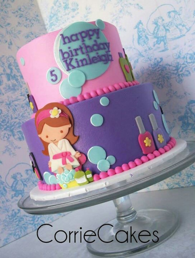 25 Beautiful Girl's Birthday Cake Ideas for all (Little - Big)
