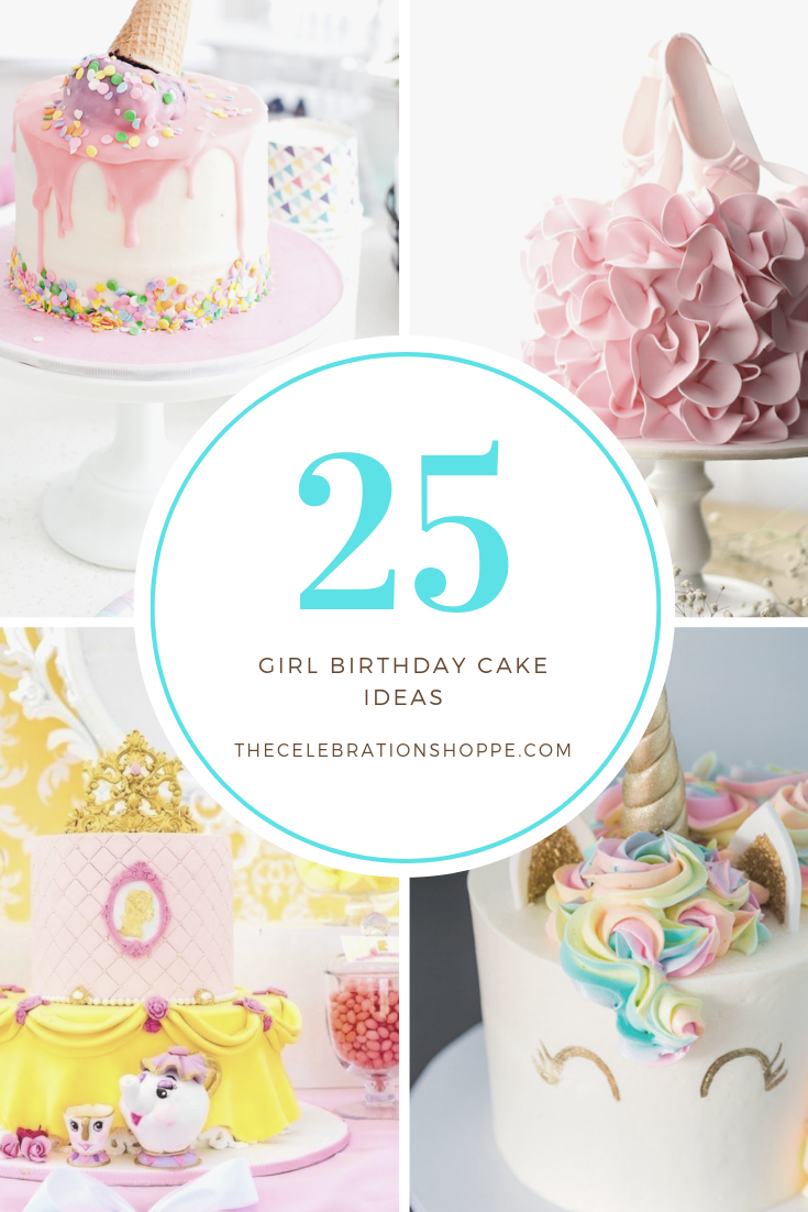25 Beautiful Girl Birthday Cake Ideas