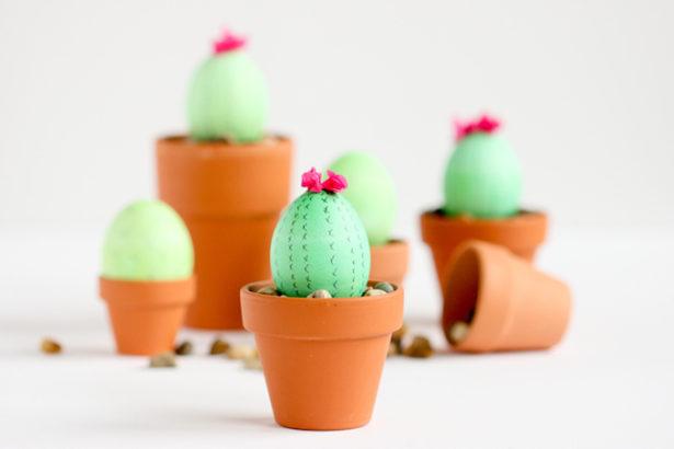 Best Easter Egg Decorating Ideas Cactus Delia Creates