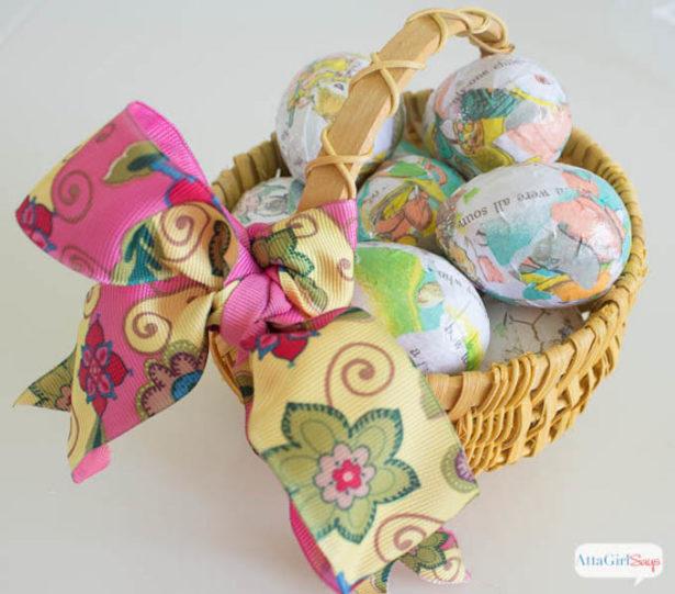 Best Easter Egg Decorating Ideas Decoupage Atta Girl
