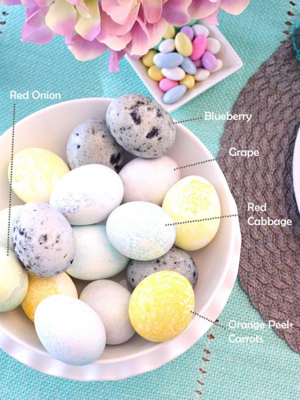 Best Easter Egg Decorating Ideas Natural Egg Dye | Kim Byers