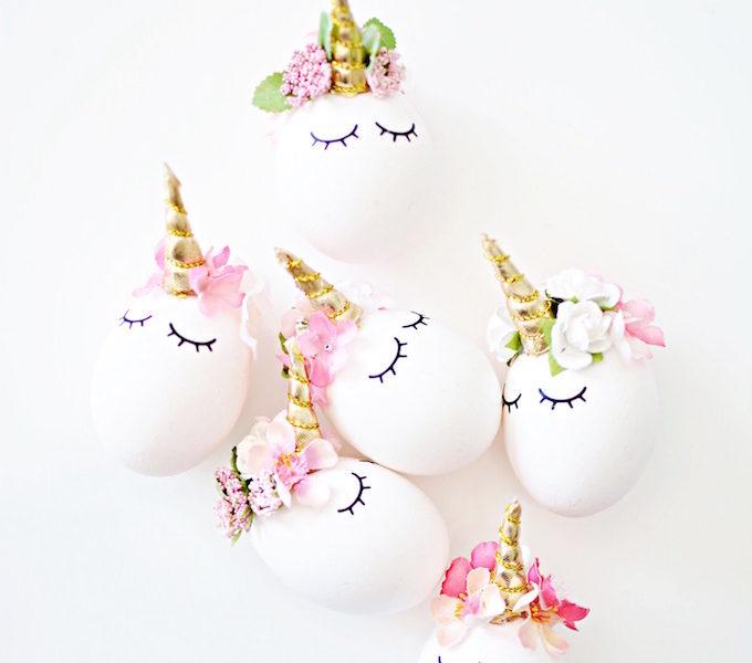 Best easter egg decorating ideas unicorn egg little inspiration