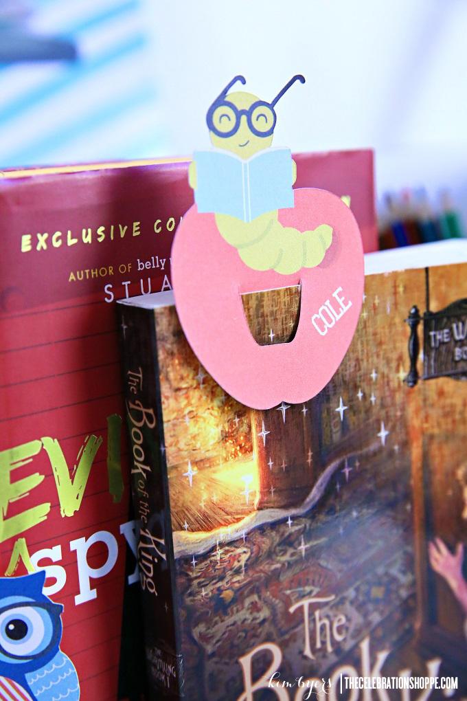 DIY Bookworm Bookmark | Kim Byers