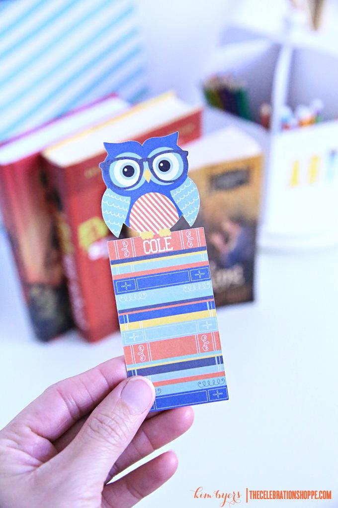 Make Personalized Bookmarks | Kim Byers
