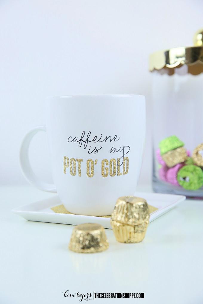 St patricks day coffee mug kim byers