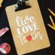 Teacher appreciation gift clipboard kim byers