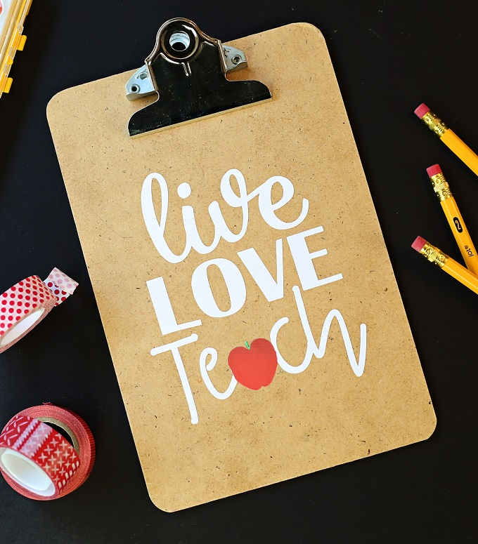 Teacher appreciation gift clipboard kim byers