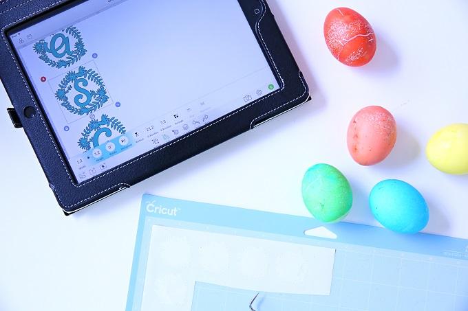 Make Monogram Easter Eggs | Kim Byers