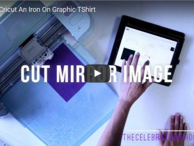Diy graphic tshirt video kim byers